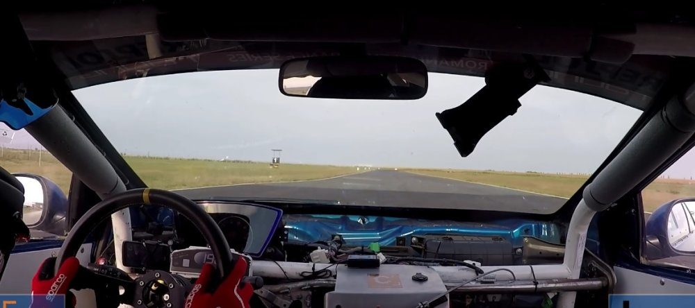 Honda Civic Type R In-Car Open Track