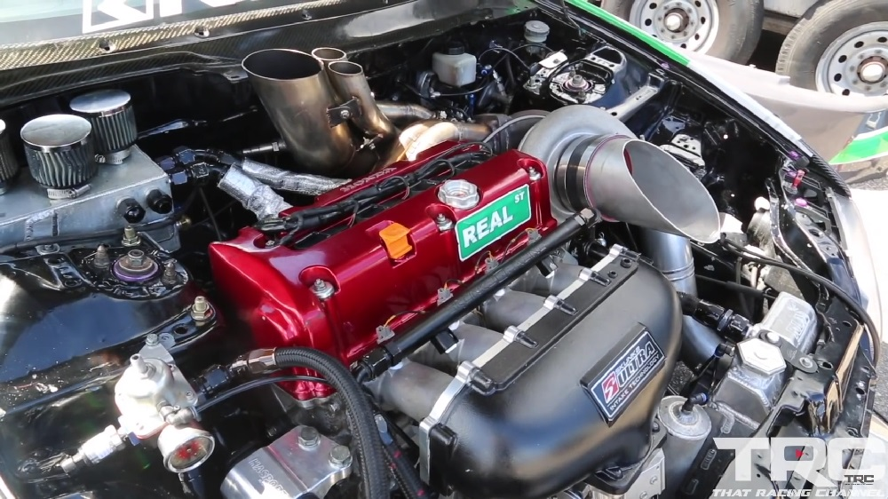 1300 WHP Turbo EG Civic AWD K20 K24 B16 B18 Drag Build Honda-tech.com