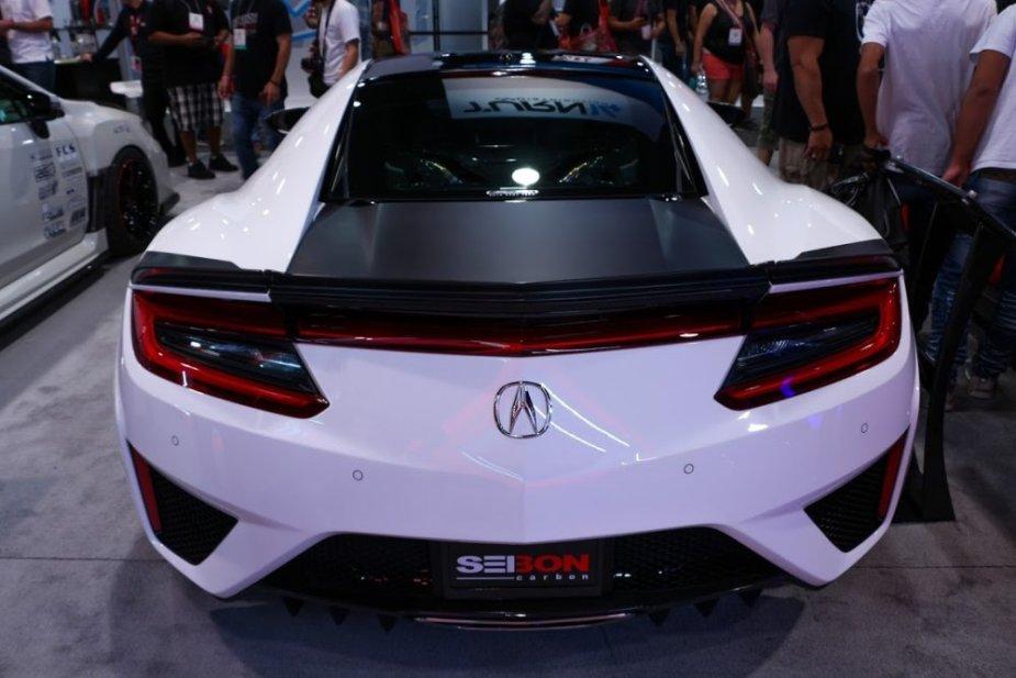 Seibon Acura NSX Rear