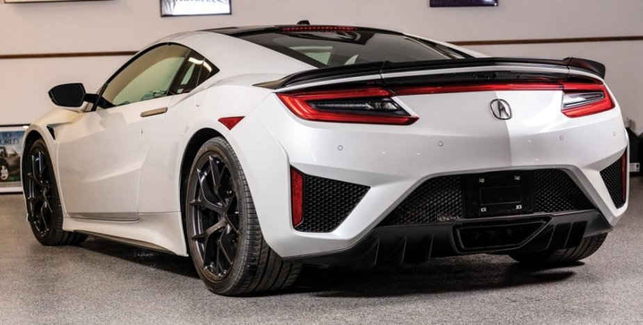 2017 Acura NSX Rear