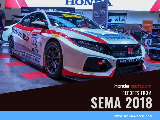 Honda Civic Type R TCR Formula 3 F3 RealTime Racing Insight SEMA 2018 Honda-tech.com