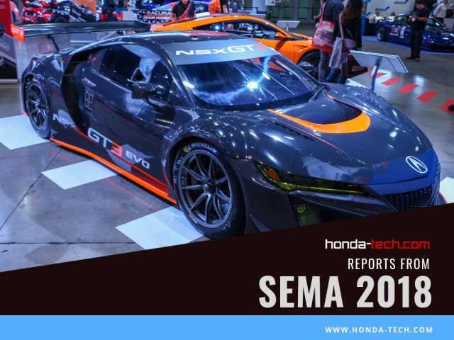 Acura NSX GT3 Evo Penske ARX-05 TLX RealTime Racing Graham Rahal Performance SEMA 2018