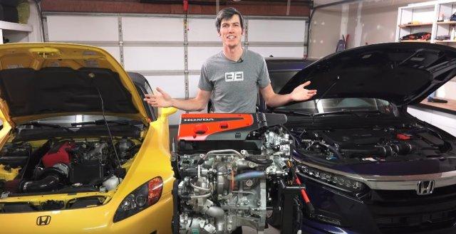 Honda Civic Type R Engine Video