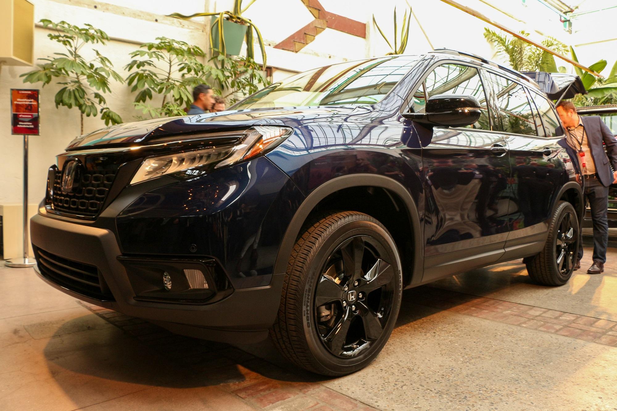 Honda Debuts All-new 2019 Passport SUV at L.A. Auto Show ...