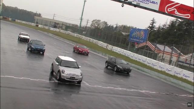 Honda CR-Z Races at Tsukuba