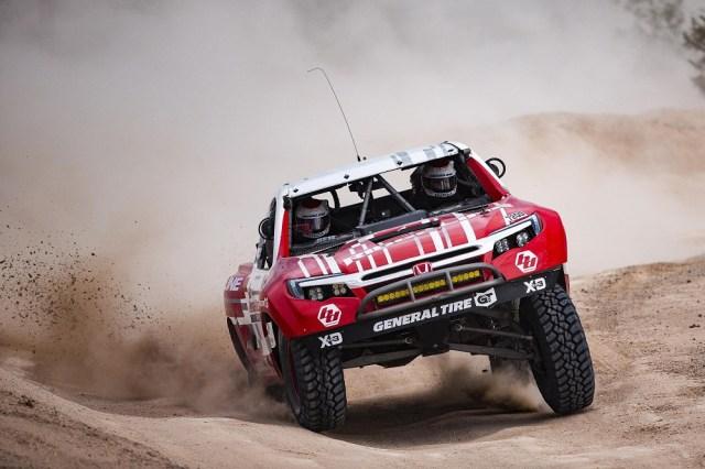 Honda Off-Road Racing Ridegline Baja Race Truck Mint 400 Win