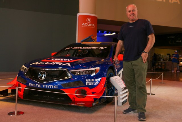 RealTime Racing Peter Cunningham Tales Us Tales from Acura Motorsport History Long Beach Grand Prix 2019 Jake Stumph Acura TLX Pikes Peak