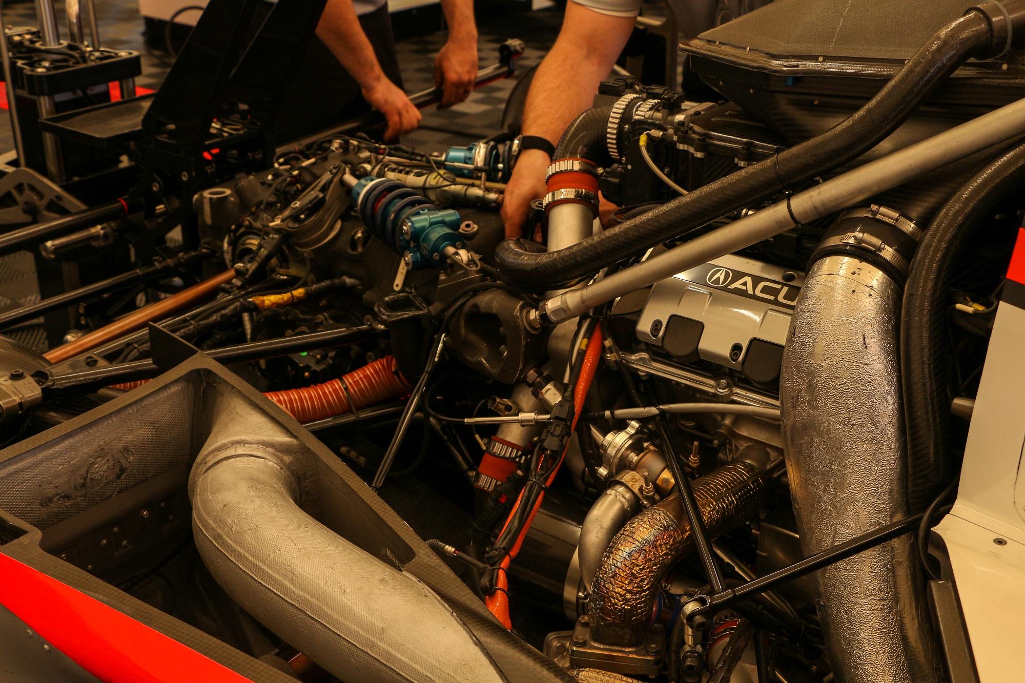 Acura Team Penske ARX-05 Long Beach Grand Prix Jake Stumph