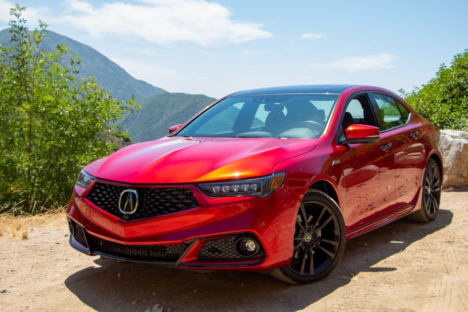 2020 Acura Tlx Pmc Edition Quick Drive Review Look At That Paint