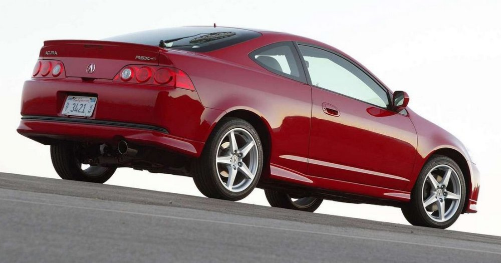 acura rsx with k24 power exhaust swap