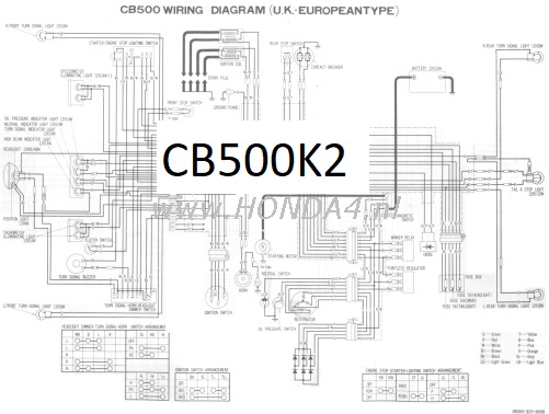 32100 323 Cb500k2 Wiring Diagram