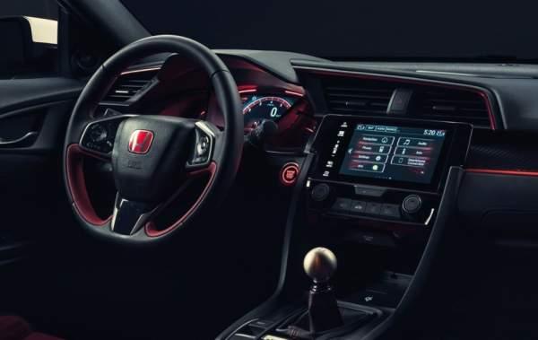2020-Honda-Civic-Type-R-Interior