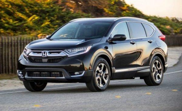 2020 Honda CR-V Touring Changes