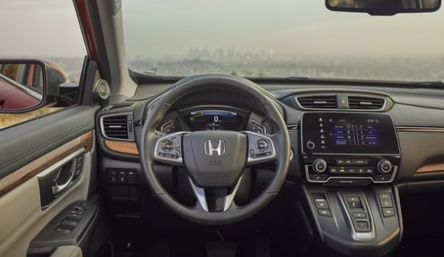2020-Honda-CR-V-Hybrid-Interior