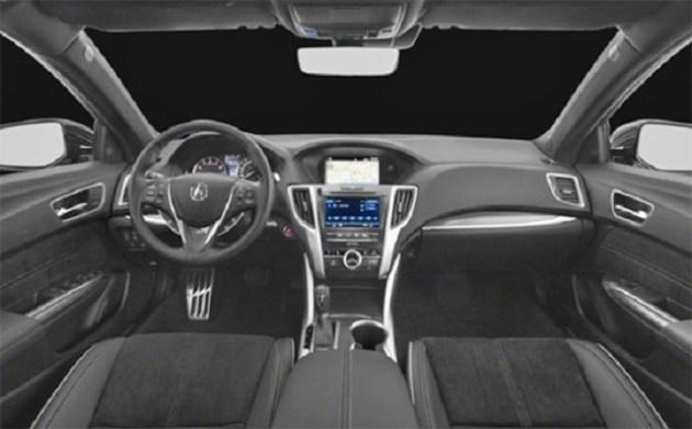 2021 Acura TLX cabin
