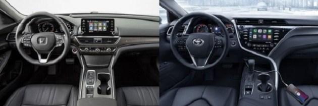 2020 Honda Accord VS 2020 Toyota Camry