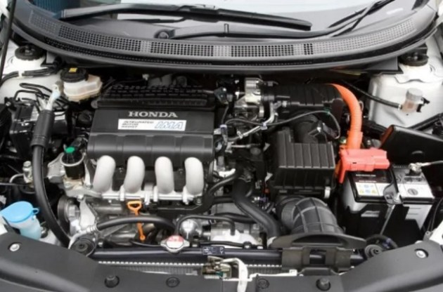 Honda CRX powertrain
