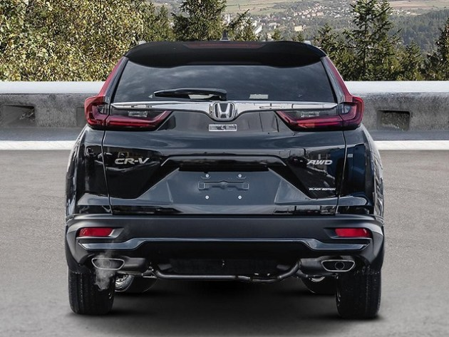 2021 Honda CR-V Black Edition rear