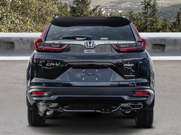 2021 Honda CR-V Black Edition rear