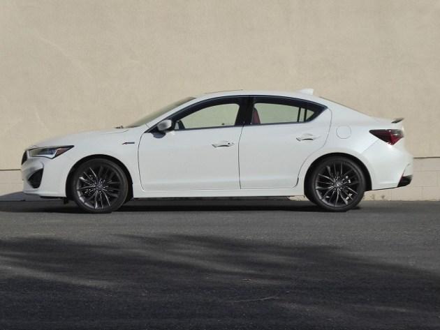2022 Acura ILX side