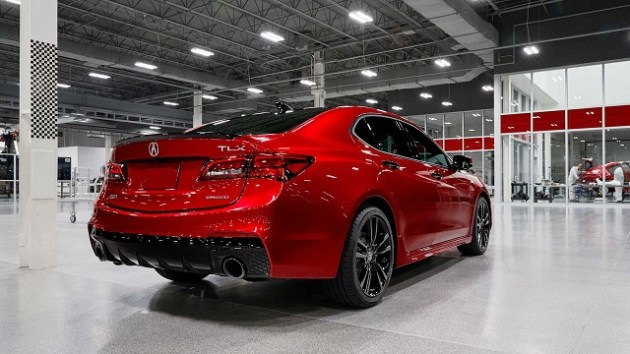 2021 Acura TLX PMC Edition rear