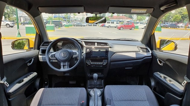 2021 Honda Brio interior