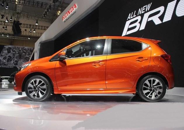 2021 Honda Brio side