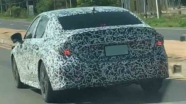 2022 Honda Civic Sedan Spied