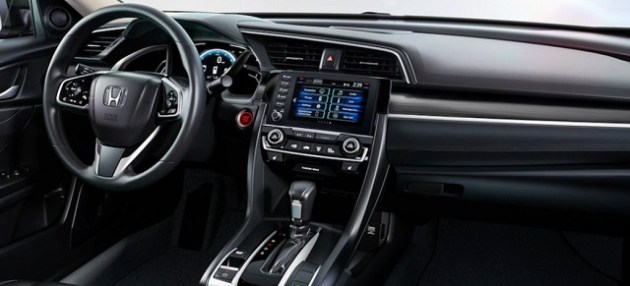 2021 Honda Civic Sedan interior