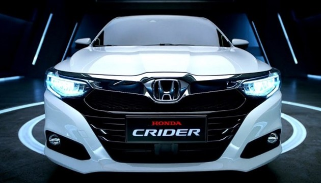 2021 Honda Crider front