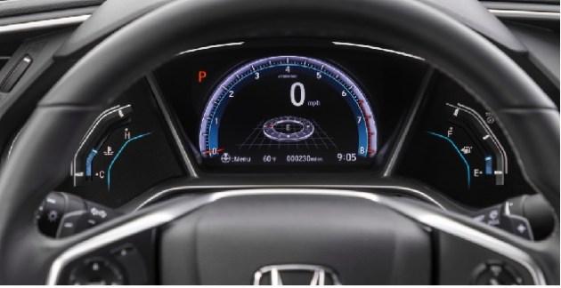 2022 Honda Civic cabin