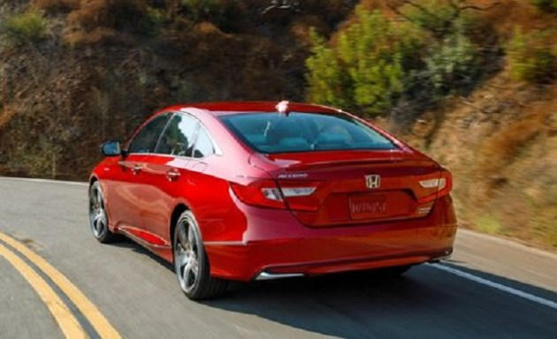 2021 Honda Accord Hybrid rear