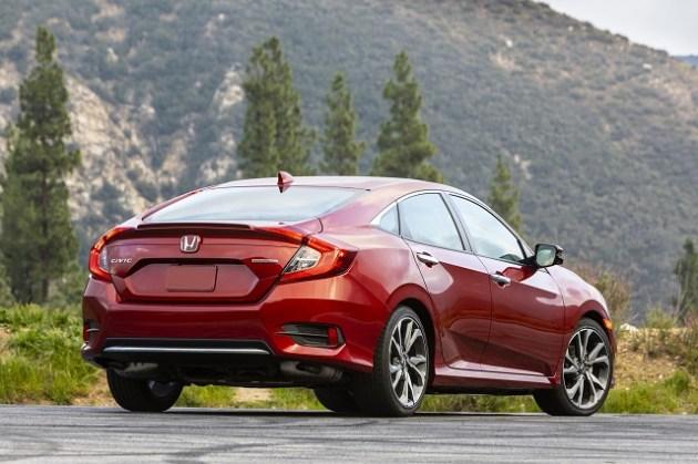 2021 Honda Civic Sedan rear