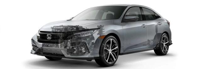 2022 Honda Civic Sedan engine