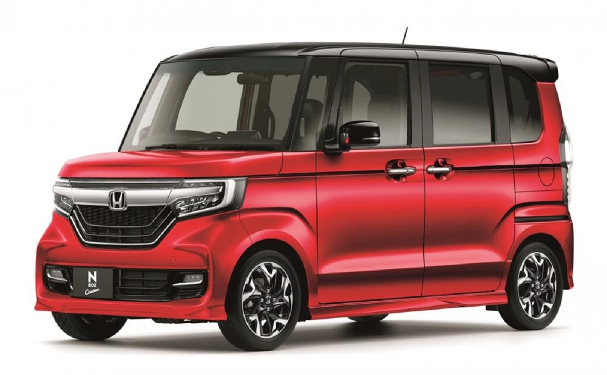 2021 Honda N-Box front