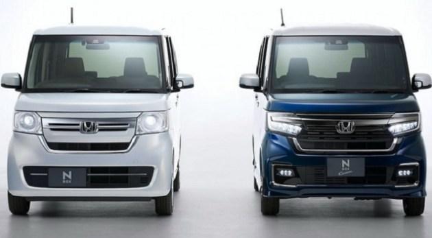 2021 Honda N-Box side by side