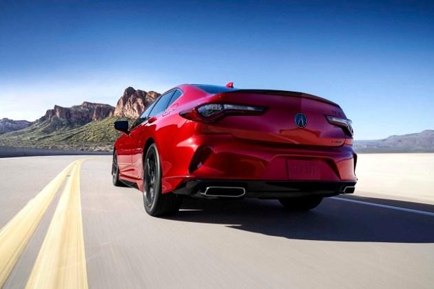 2022 Acura TLX rear
