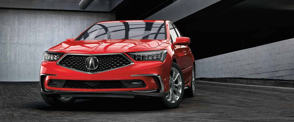 2022 Acura RLX front