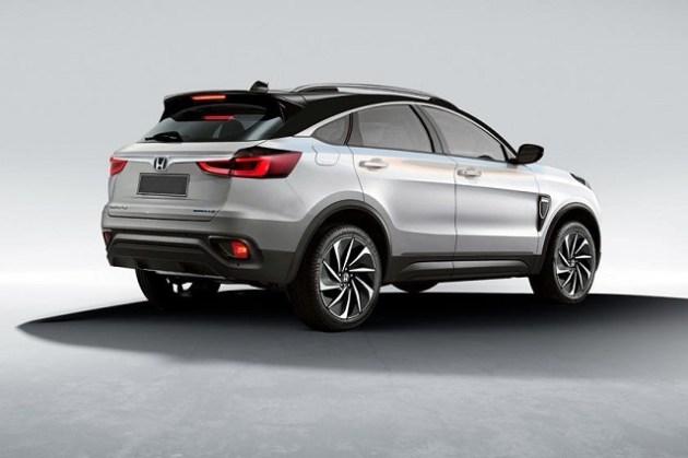 2022 Honda Vezel rear