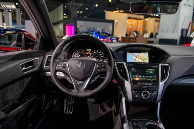 2022 Acura TLX PMC Edition interior