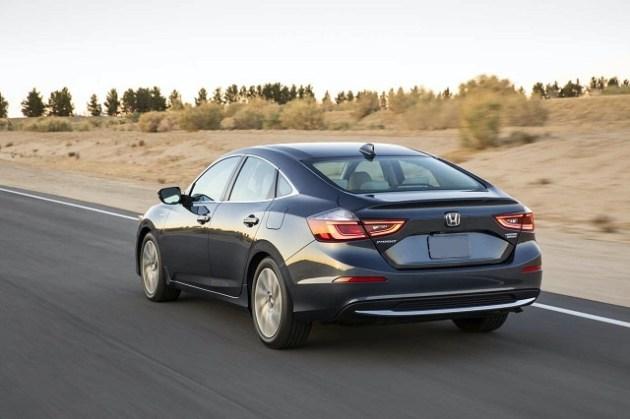 2022 Honda Insight rear