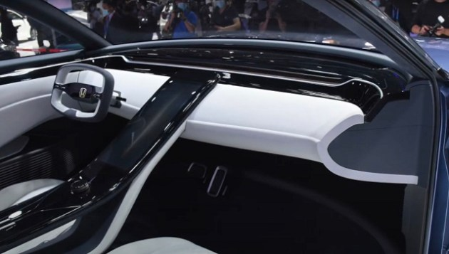 2022 Honda SUV e interior