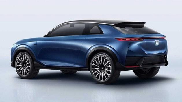 2022 Honda SUV e rear