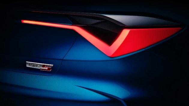 2022 Acura RDX Type S rear