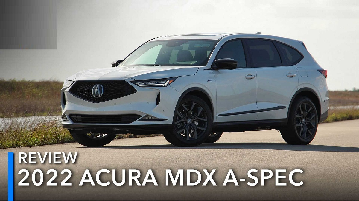 2022 Acura MDX A-Spec front
