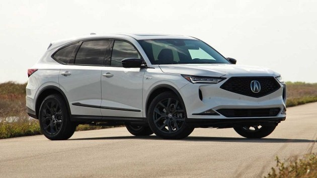 2022 Acura MDX A-Spec side