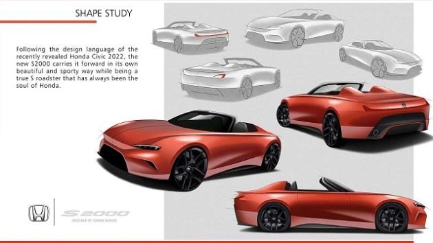 2022 Honda S2000 rear