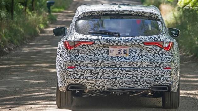 2023 Acura MDX rear look