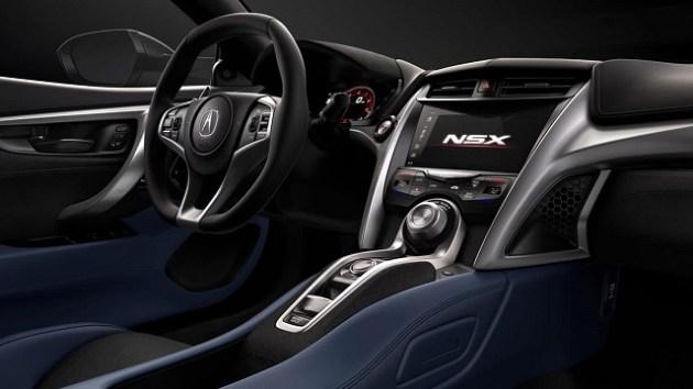 2023 Acura NSX interior