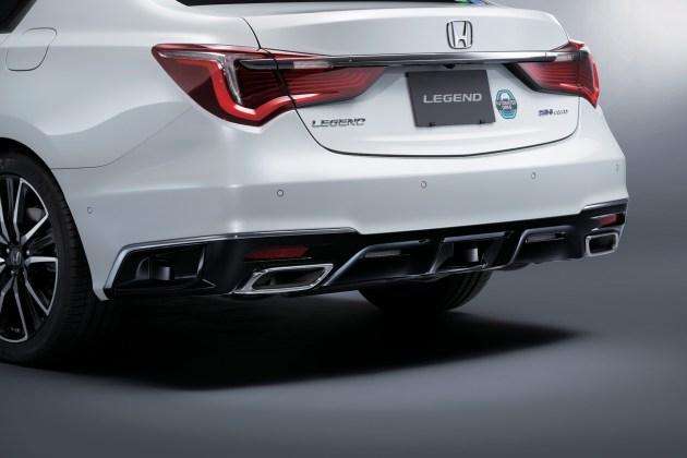 2023 Honda Legend Rear